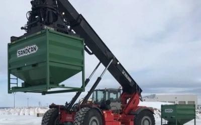 RT290 Frac Sand Logistics