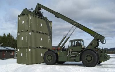 RT240 The RTCH Rough Terrain Container Handler